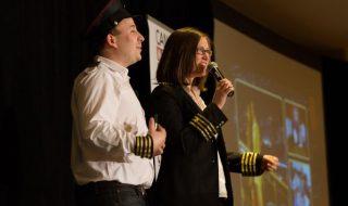 Fraser Paterson & Nadine Shemilt at Canada Marketing Summit. Laptop Warrior Authors