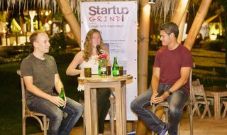 Roger Hamilton interviews Fraser Paterson & Nadine Shemilt at Bali Startup Grind