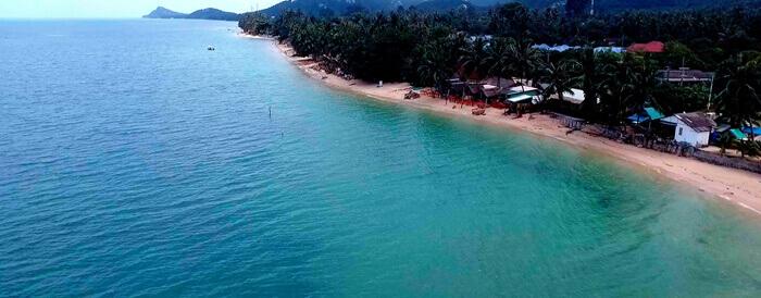Bang Por Beach on Koh Samui Island, Thailand