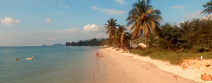 Lipa Noi Beach in Koh Samui, Thailand
