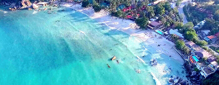 Koh Samui Beaches | Get information on the 8 best Beaches by Drone Photography