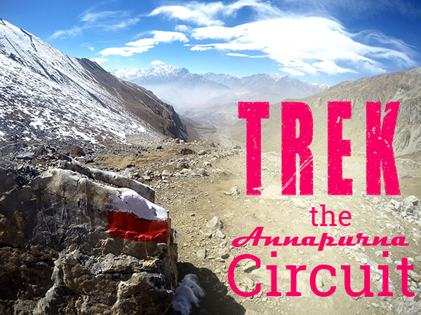 Trek the Annapurna Circuit in Nepal