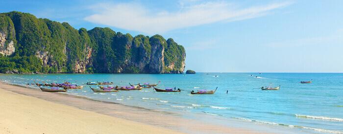 Ao Nang in Thailand