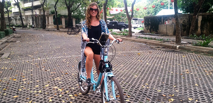 Bike Ride Tour in Bangkok
