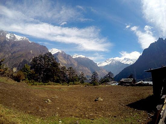 Mount Manaslu in Nepal is 8156M high