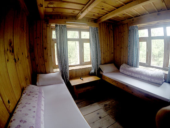 Guesthouse in Chame, Nepal