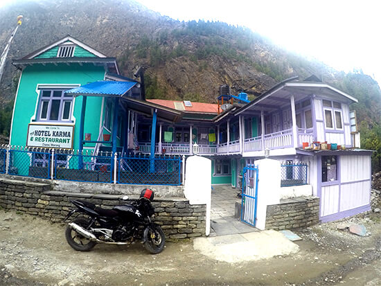 Hotel Karma & Restaurant in Chame