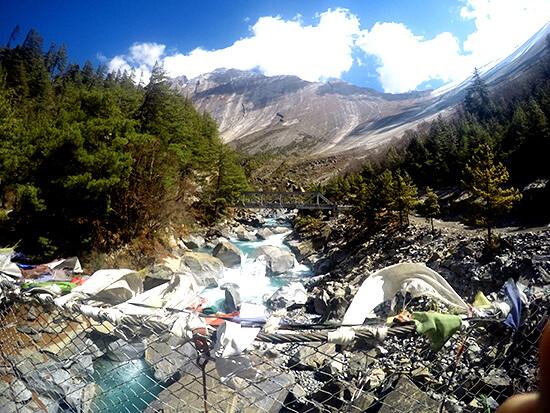 Stunning views on the Annapurna Circuit, Nepal
