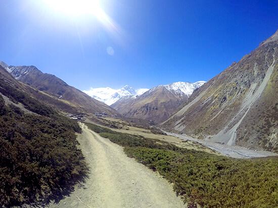 Annapurna Circuit Trekking on trek to Thorong Pedi