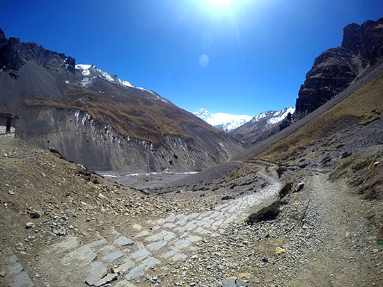 Thorong Pedi Trekking on the Annapurna Circuit