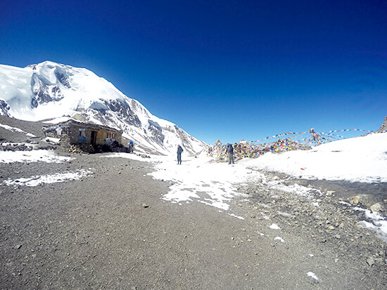 The Summit of Annapurna Circuit