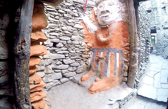 Historical town of KagBeni while Annapurna Circuit Trekking