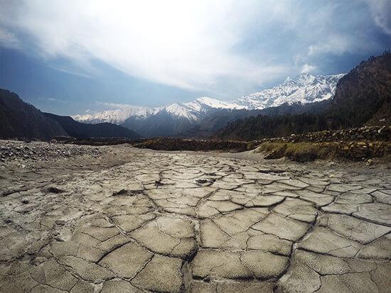 Dhaulagiri Mountain Range at 8176 M