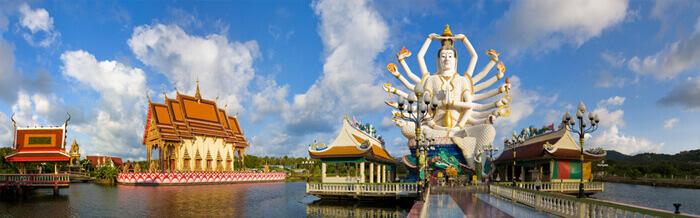 Koh Samui Temples - Beautiful Wat Plai Laem