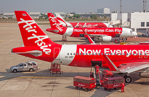 AirAsia Airplane Picture on Tarmac