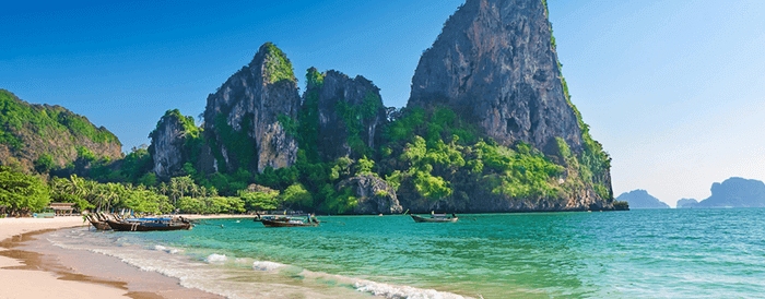 Krabi Beach in Thailand