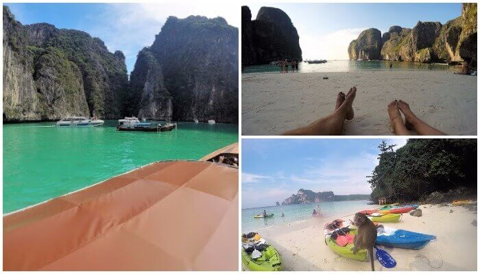 Phi Phi Island, Maya Bay and Monkey Beach