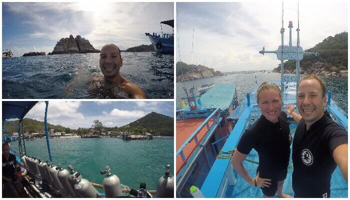 Getting RAID Dive Certification in Koh Tao, Thailand