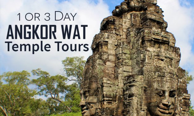 1 or 3 Day Angkor Wat Temple Tours