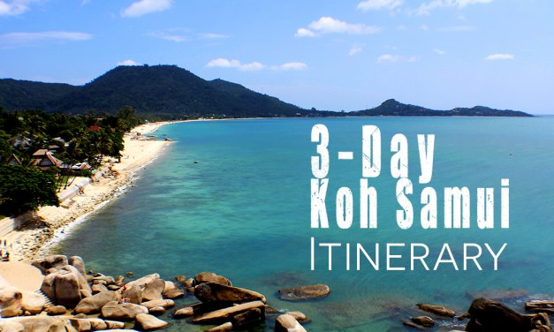 3 Day Itinerary & Travel plans for what to do in Koh Samui