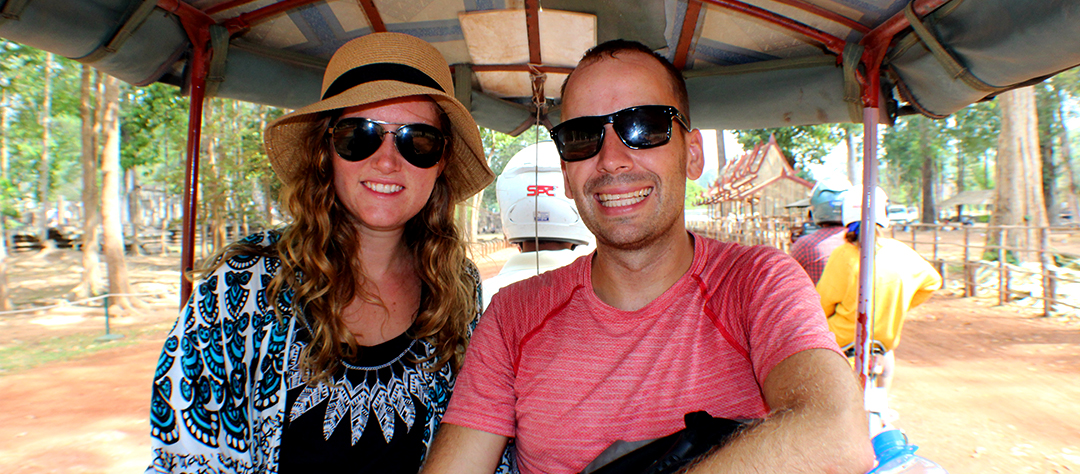 Ride in a Tuk Tuk Driver around Angkor Wat for the Day