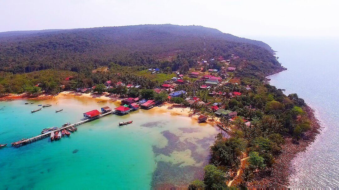 M'pay Bay by Drone | Koh Rong Samloem