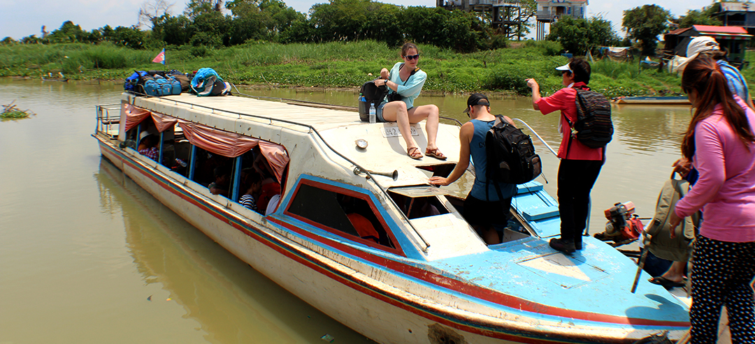 Boat Ride from Siem Reap to Battambang