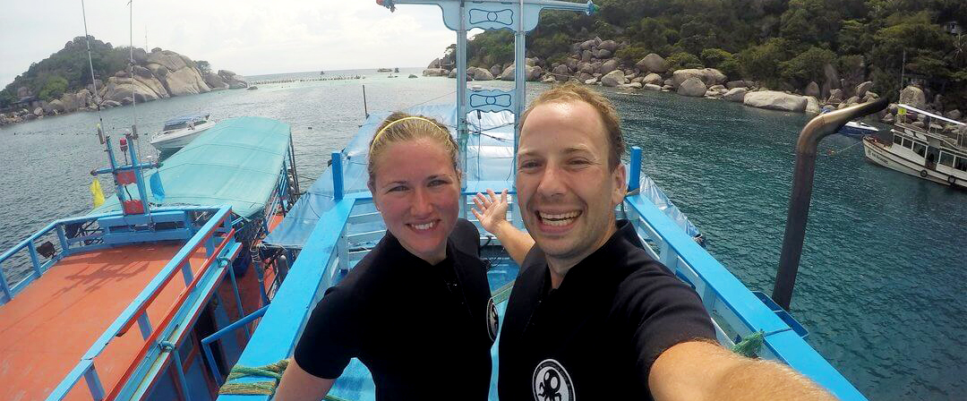 Raid Certification on Nang Yuan in Koh Tao Thailand