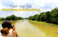 Siem Reap to Battambang River Boat Ride
