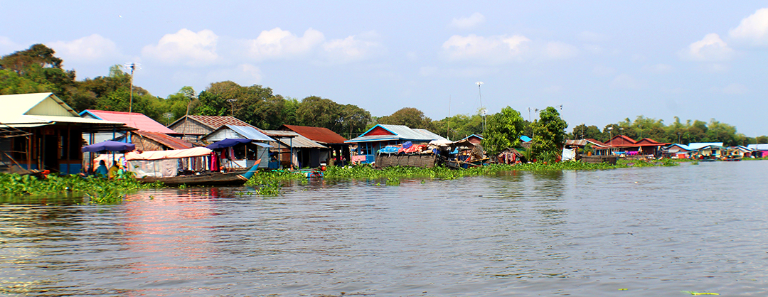 Floating Villages on River from Siem Reap to Battambang