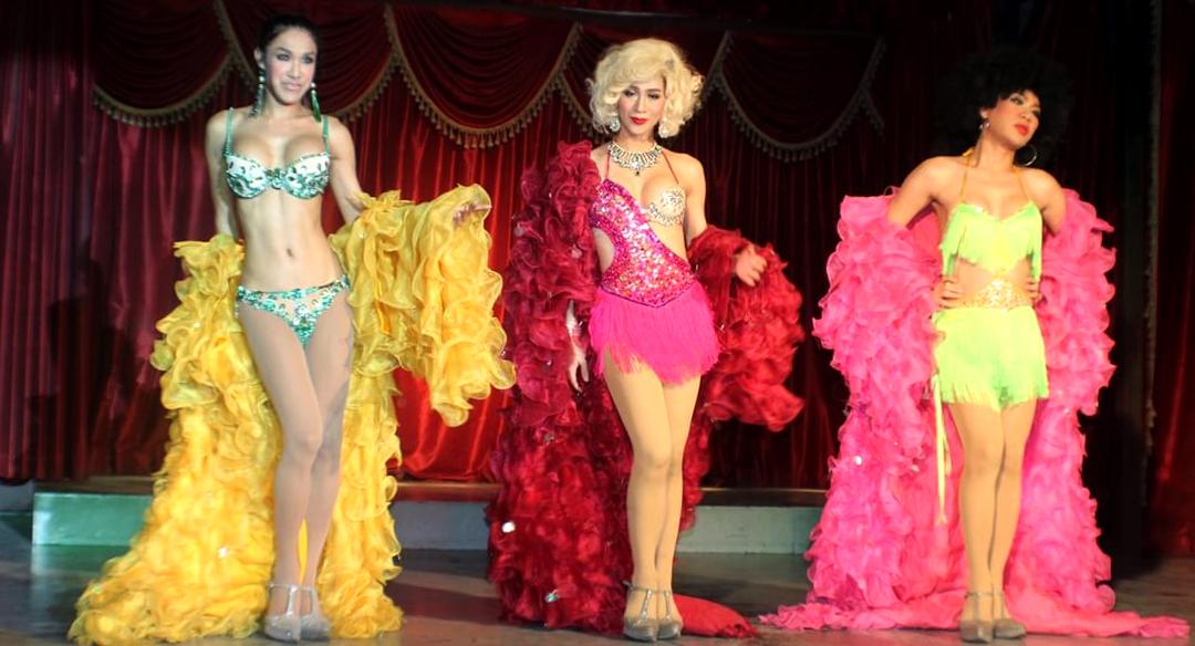 Lady Boy Cabarat at Paris Follies Cabaret in Chaweng, Koh Samui