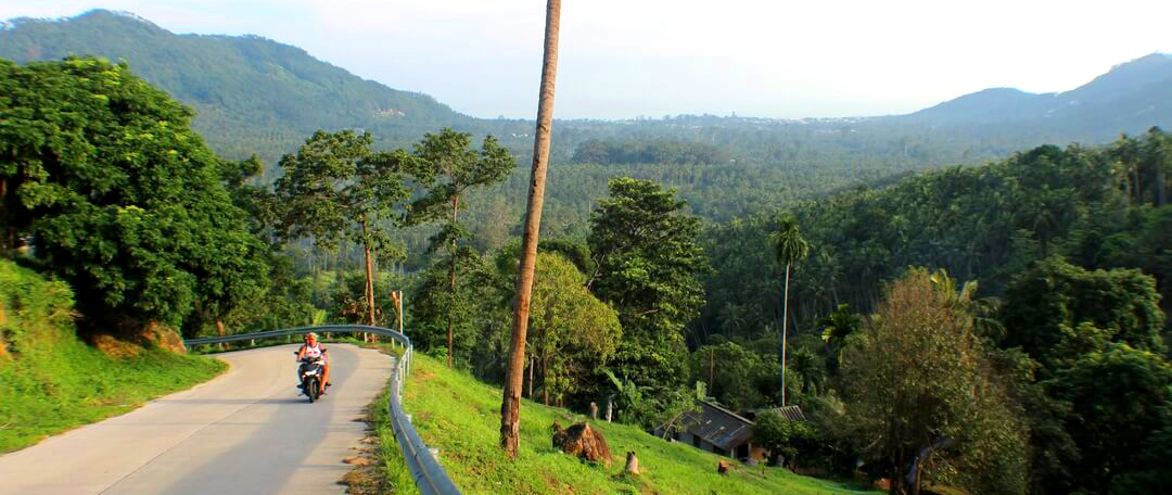 Go for an adventure down Middle Road of Koh Samui