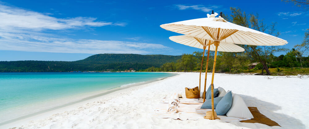 Beaches of Koh Rong Samloem Cambodia