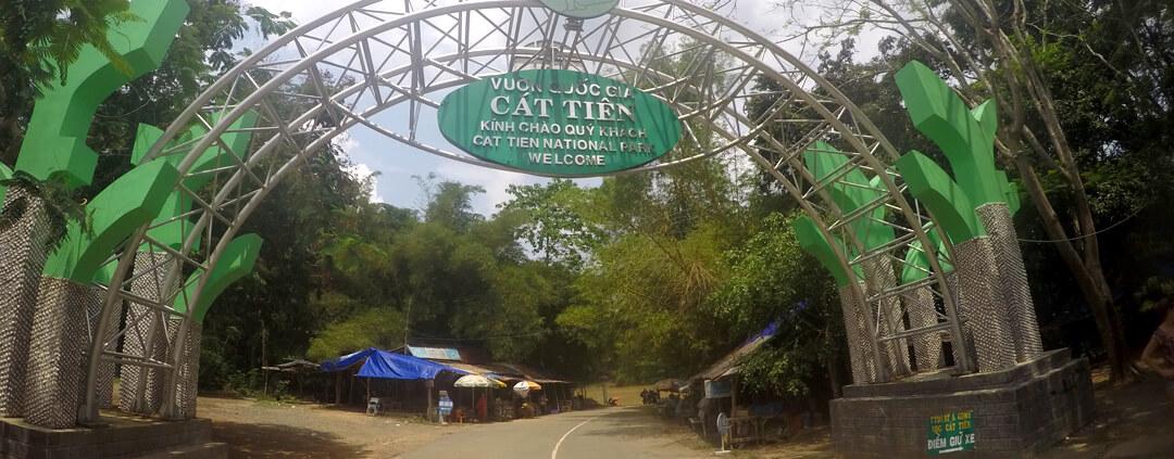 Cat Tien National Park Entrance
