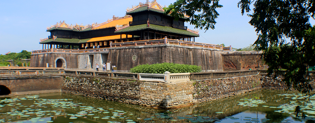 Hue Imperial City in Vietnam
