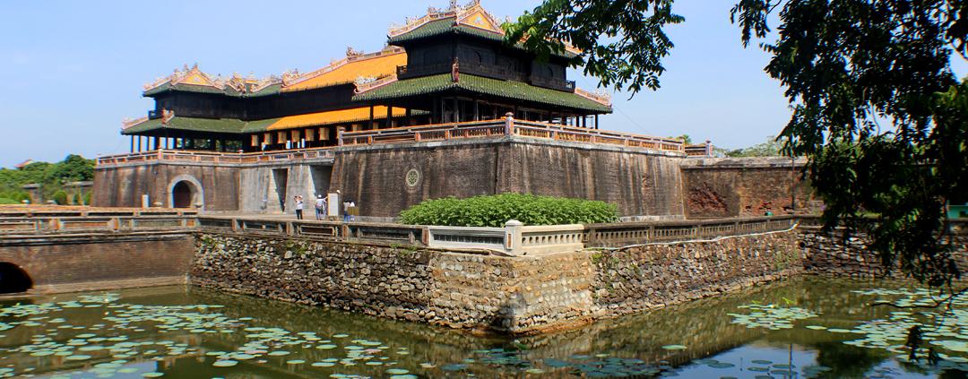 Hue Imperial City in Vietnam