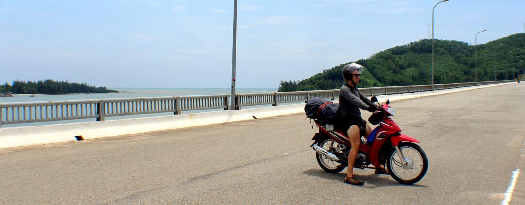 Hai Van Pass coastal Motorbike Route