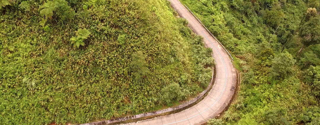 Ho Chi Minh Road by Drone